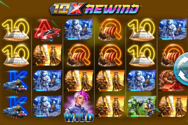4ThePlayer travels through time with the new 10x Rewind slot