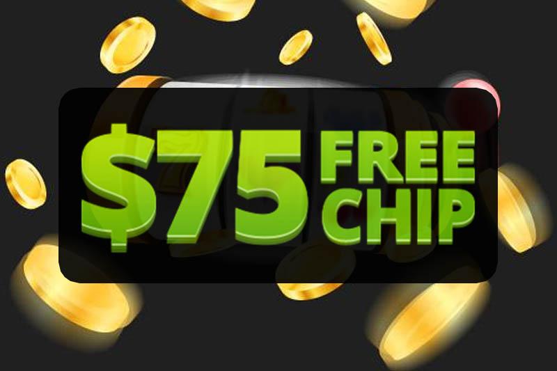 Get a $75 free chip no deposit in Australia
