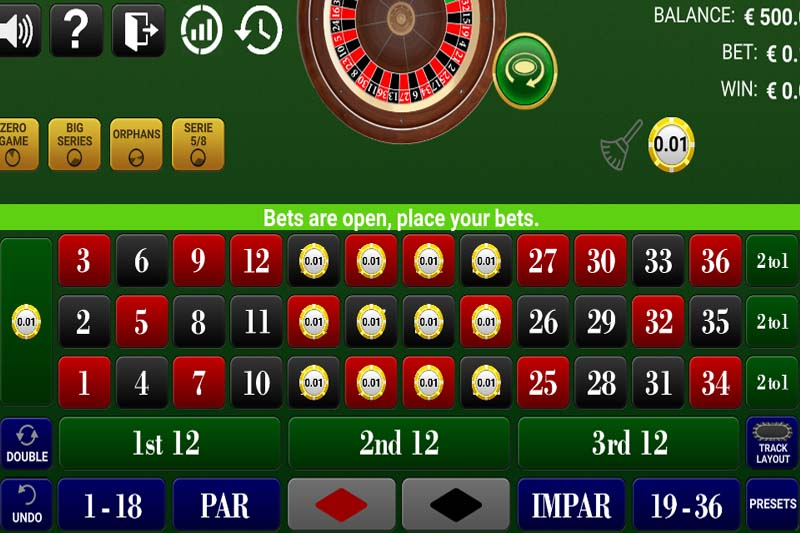 New online roulette game released by GameArt