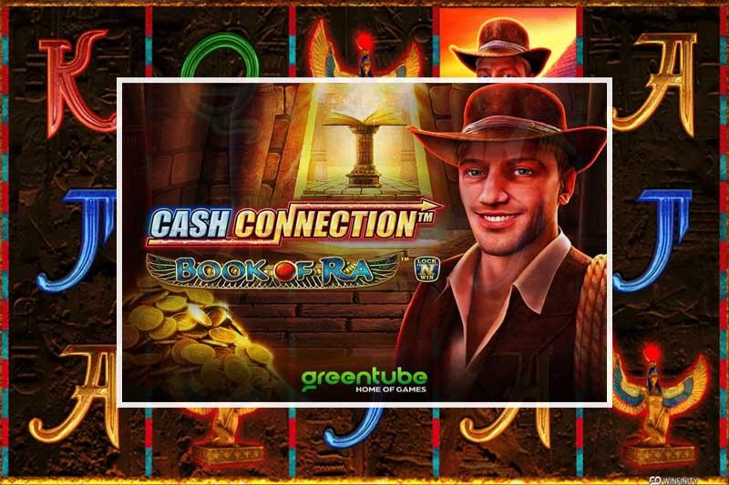Greentube enhances classic slot Cash Connection Book of Ra