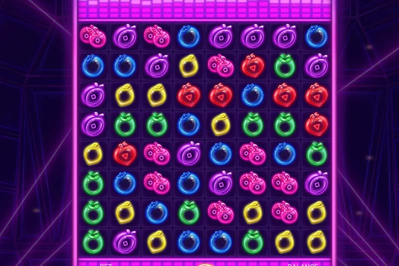 Dance your way to top prizes in the new Fruit Disco slot