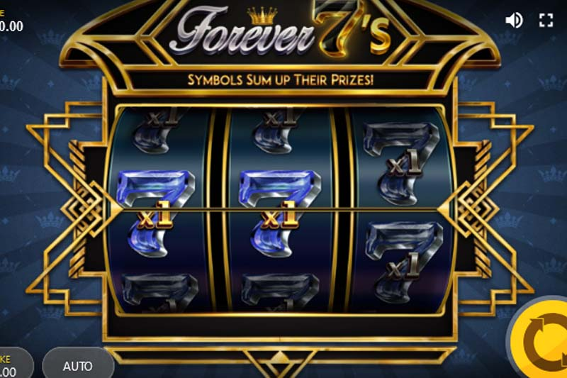 Red Tiger releases classic one-line slot machine Forever 7's