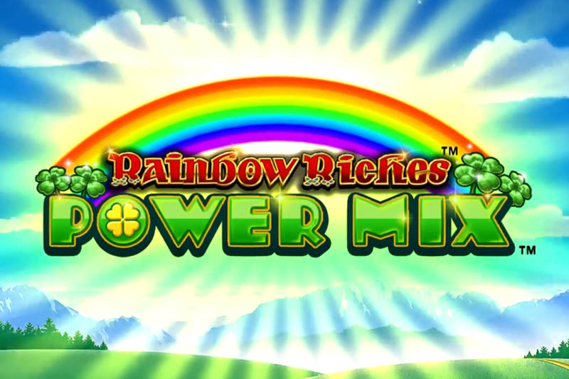 SG Digital announces new Rainbow Riches Power Mix slot with 250k top prize