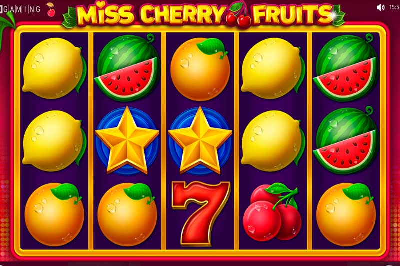 BGaming delighted with new fruit slot release Miss Cherry Fruits