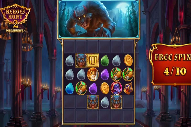 Unlock the heroes to stop the awoken evil in the new Heroes Hunt 2 slot