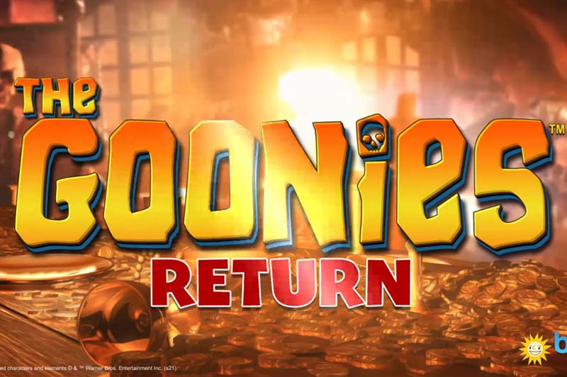 The new Goonies slot game is a huge hit with old and young players