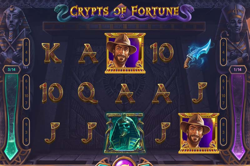 Explore the ancient crypts of Egypt in the new Truelab slot Crypts of Fortune