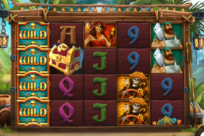 Explore a beautiful tropical island with Caribbean Anne's sequel slot