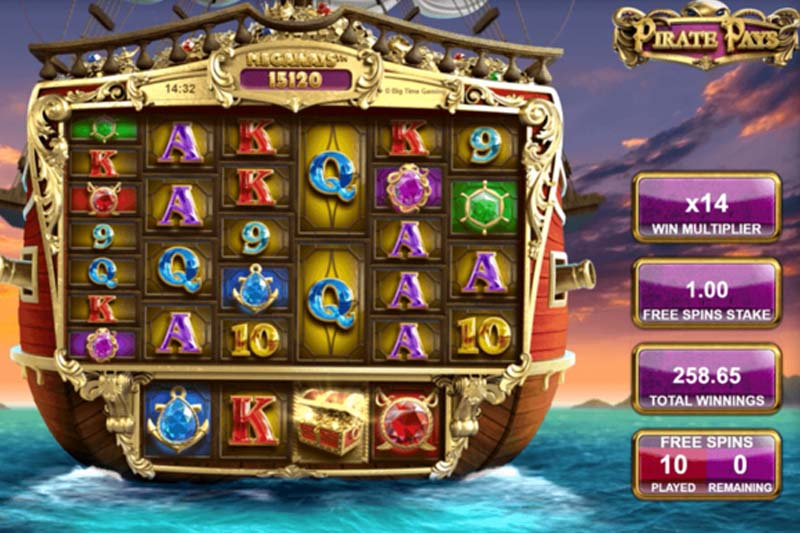 Embark on a new pirate adventure with Pirate Pays Megaways