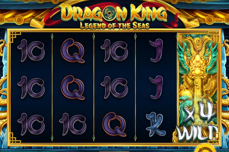 Tame the tempest in the new Dragon King Legend of the Seas slot release by Red Tiger
