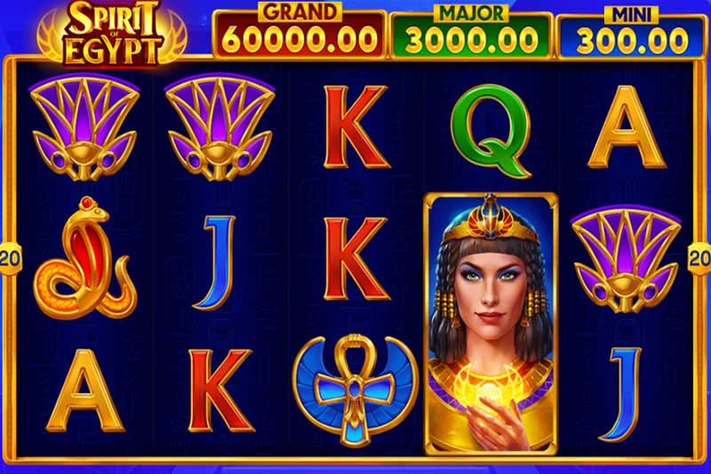 Be mesmerised by bonus scarab symbols in Playson's new Spirit of Egypt slot release